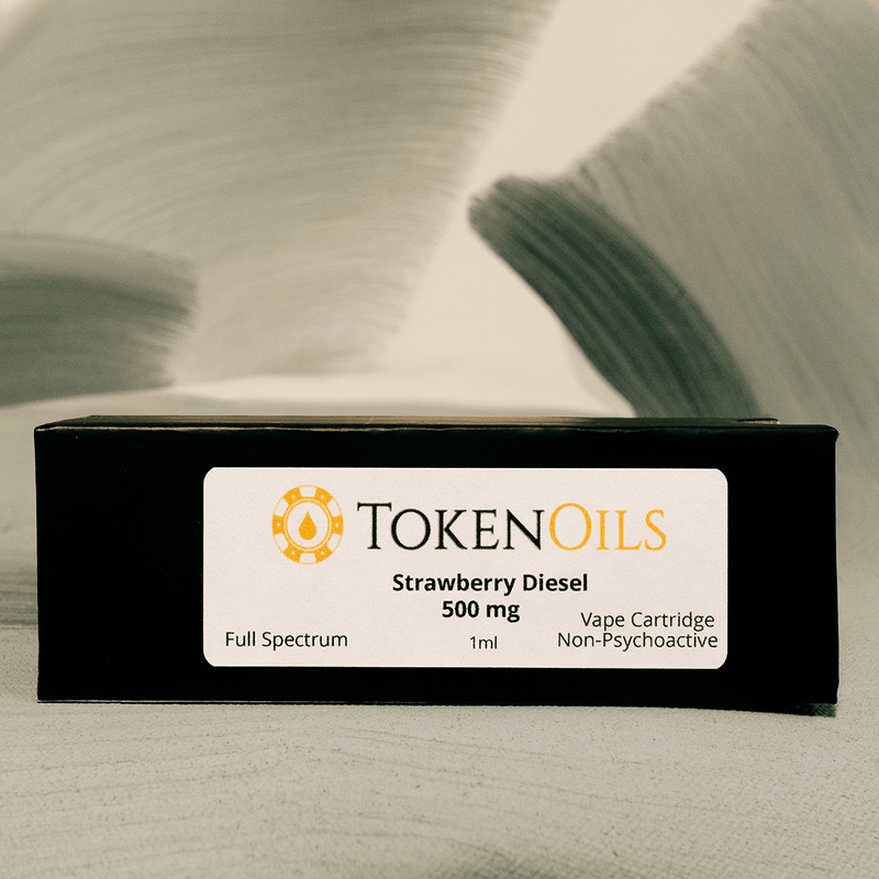 Token Oils 500 MG CBD Cartridge
