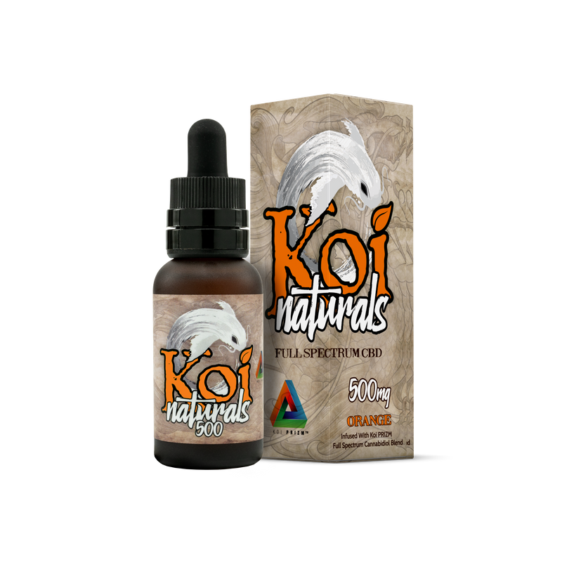 Koi Naturals CBD 500mg/1000mg - Orange
