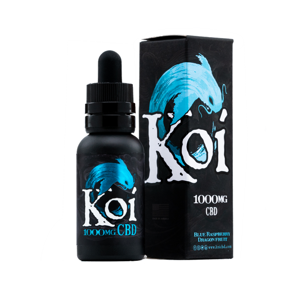 Koi CBD 500mg/1000mg - Blue Raspberry Dragonfruit