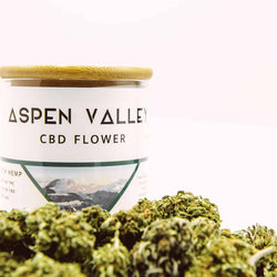 Aspen Valley CBD Hemp Flower – 1oz/28g