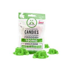 Green Roads CBD Froggies - 100mg - Sweet