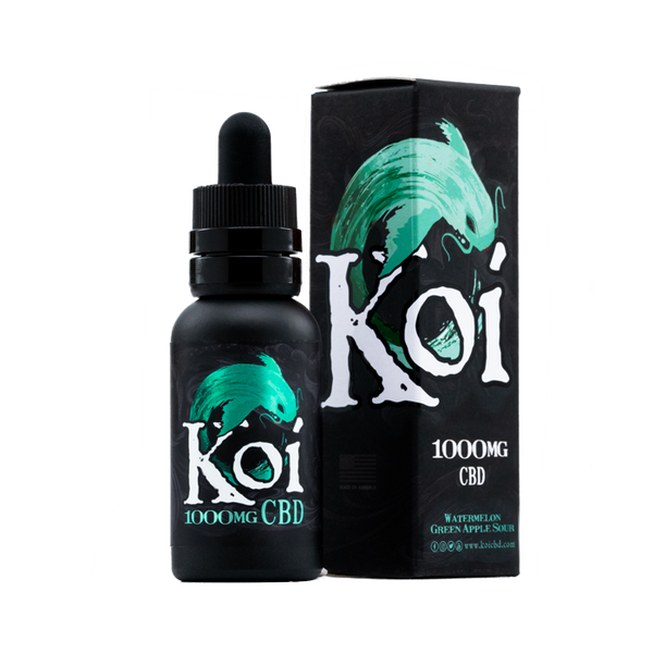 Koi CBD 500mg/1000mg - Watermelon Green Apple Sour