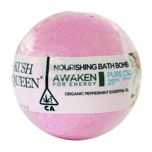 Kush Queen CBD Bath Bomb - Awaken