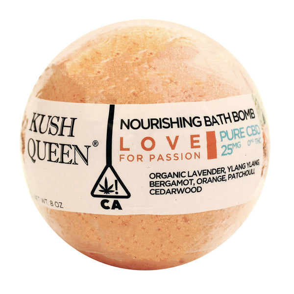 Kush Queen CBD Bath Bomb - Love