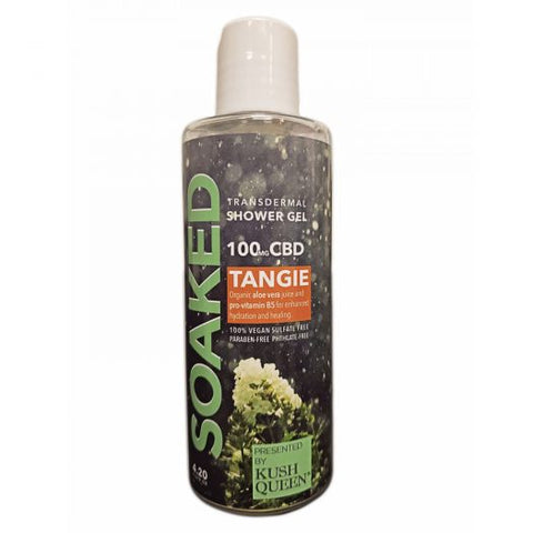 Kush Queen Soaked 100mg CBD Shower Gel