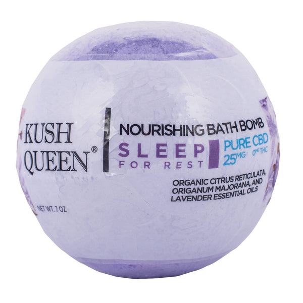 Kush Queen Bath Bomb Sleep 25mg