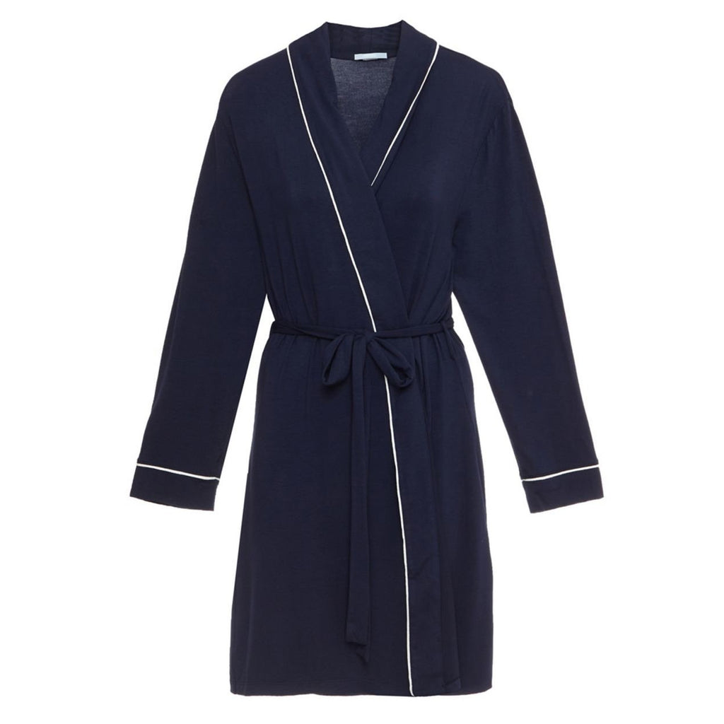 Gisele Robe - Navy and White