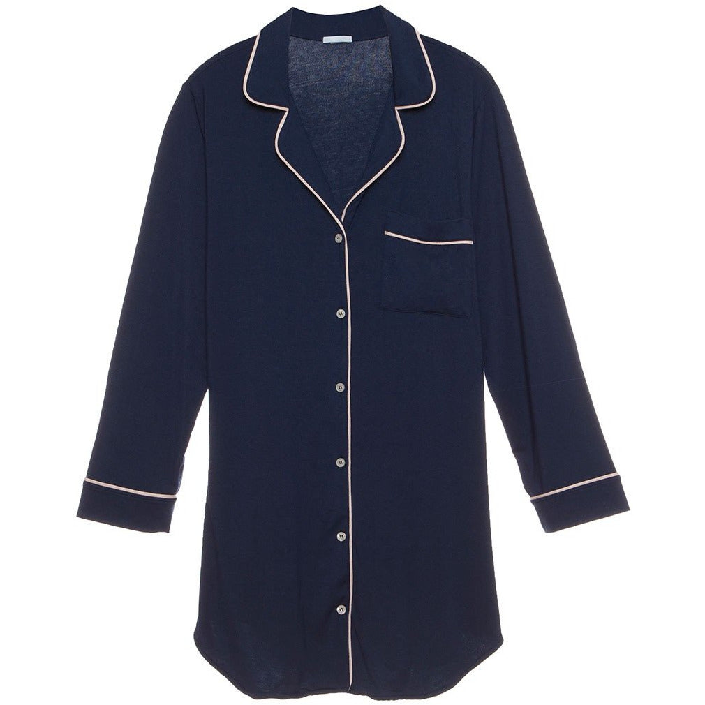 Gisele Sleep Shirt - Navy