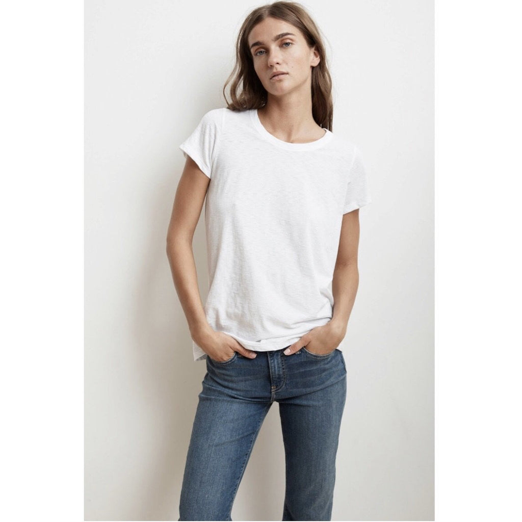 Tressa City Slub Tee by Velvet