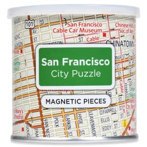 San Francisco Magnetic Puzzle