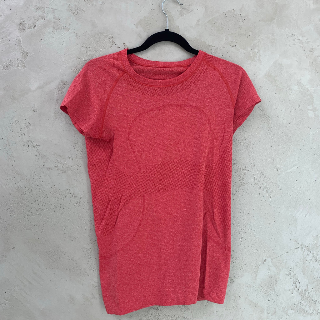 Red Workout T-Shirt (6)  - Lululemon