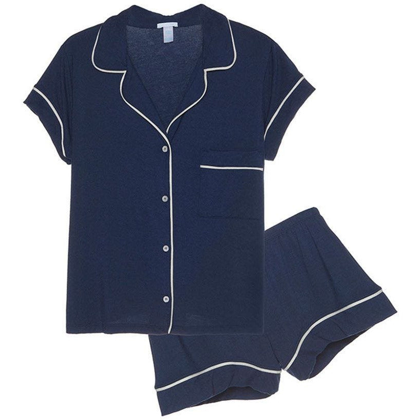 Gisele PJ Short Set by Eberjey - Navy