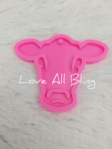 Cow Silicone Mold  #M0020