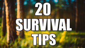 20 Wilderness Survival Tips!