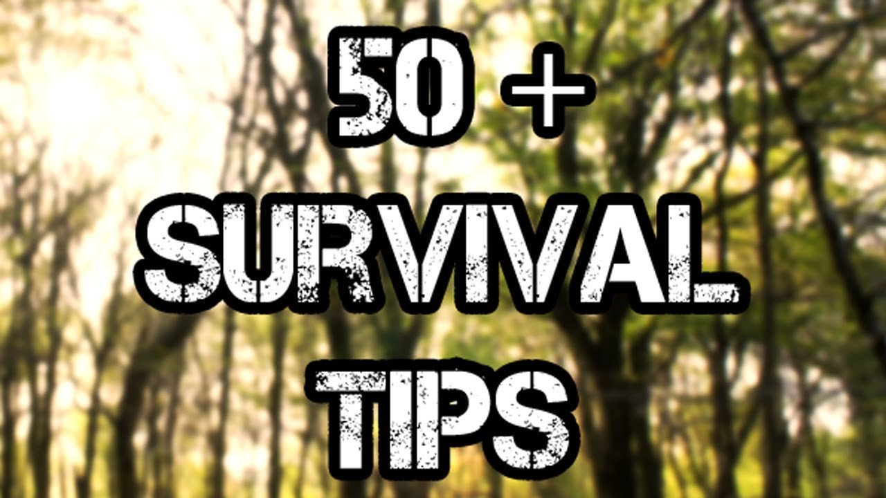 50 Survival Tips and Tricks for the Great Outdoors