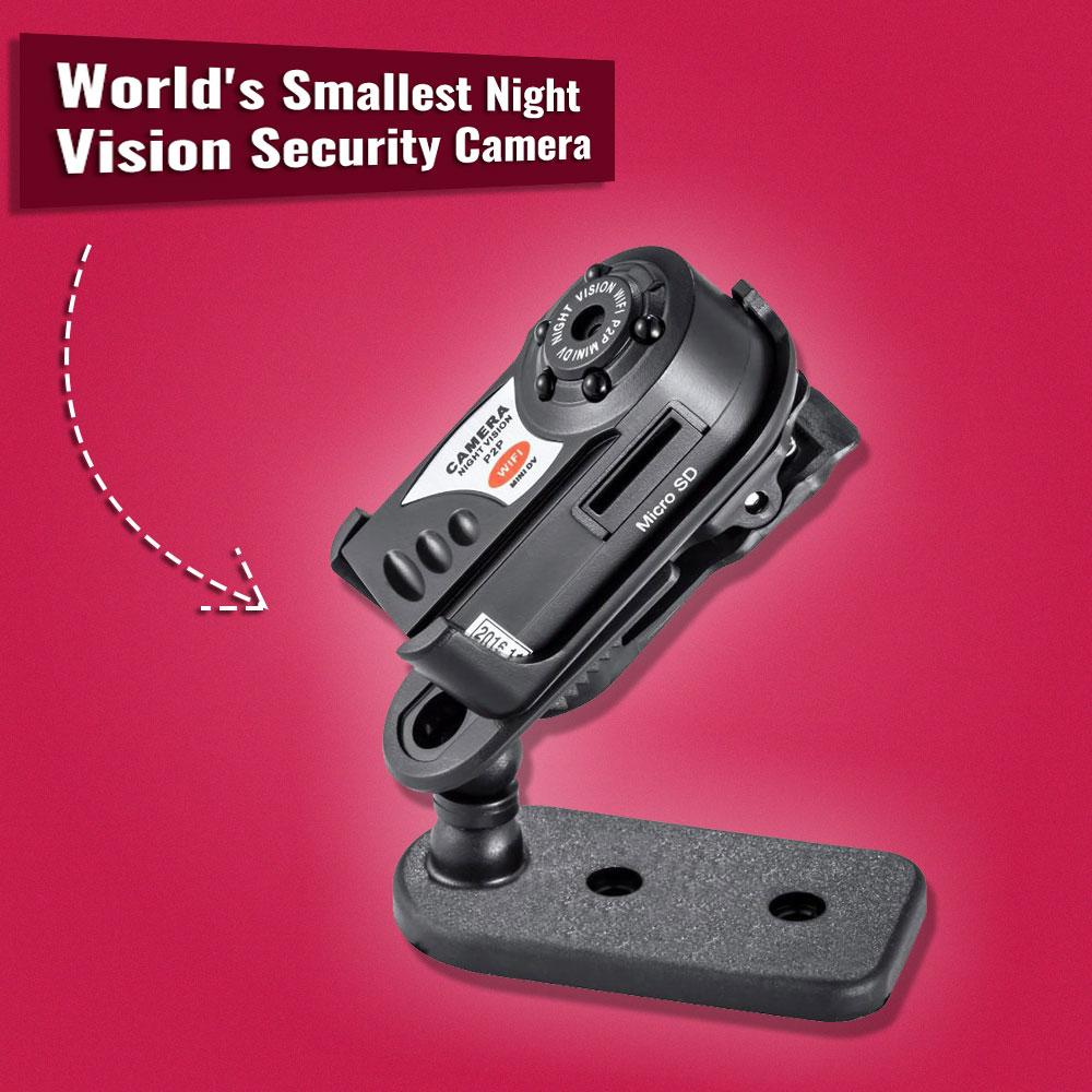Worlds Smallest Night Vision Home Security Camera