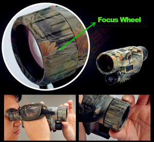 WORLDS BEST Tactical Infrared Night Vision Military Monocular Telescope