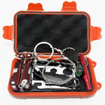 Waterproof and Shockproof Emergency SOS Survival Kit