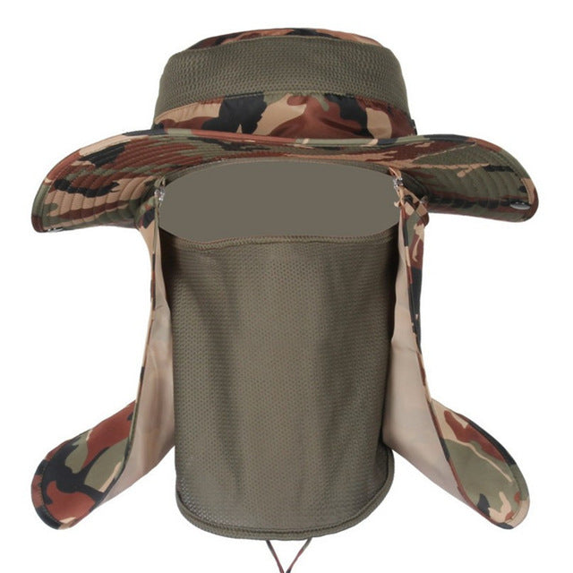 Insect Proofing Camouflage Bucket Hats