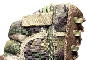 2018 TACTICAL COMBAT CAMOUFLAGE ANKLE BOOTS