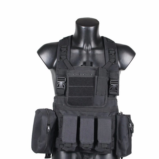 TACTICAL COMMANDO AMPHIBIOUS HUNTING VEST