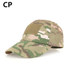 TACTICAL COMMANDO BASEBALL CAP WITH AREA TO STICK YOUR OWN BADGE (MULTIPLE COLOURS AVAILABLE)