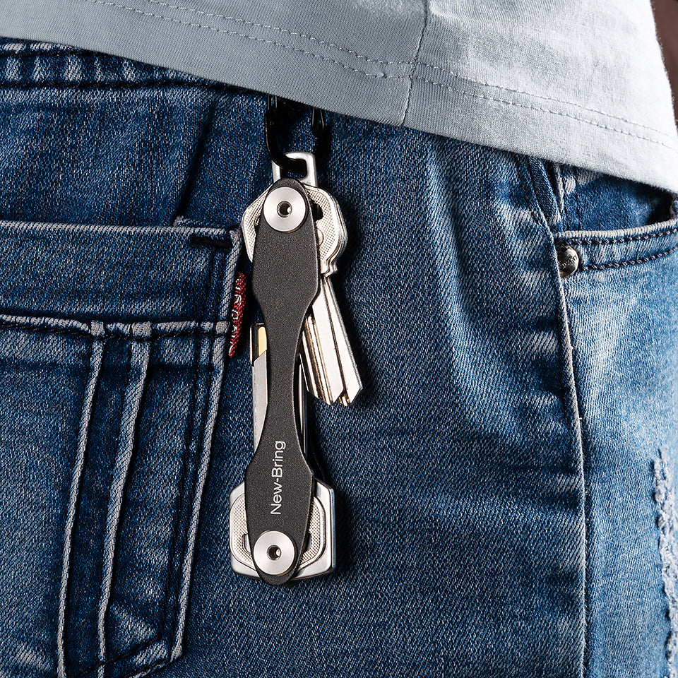Minimalist EDC Pocket Key Holder Organizer