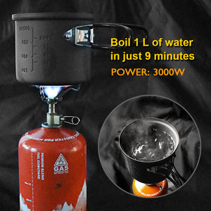 Ultra-light Portable Outdoor Camping Gas Mini Stove