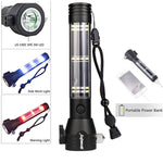 WORLDS BEST LIFE SAVING LED EMERGENCY FLASHLIGHT