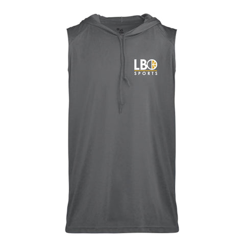 B-Core Sleeveless Hooded T-Shirt