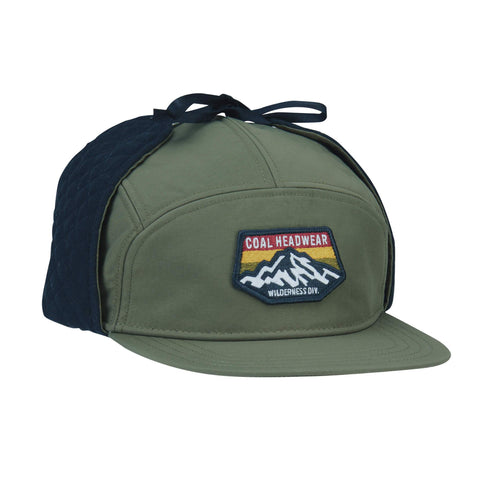 The Tracker Flannel Lined 5 Panel Earflap Cap
