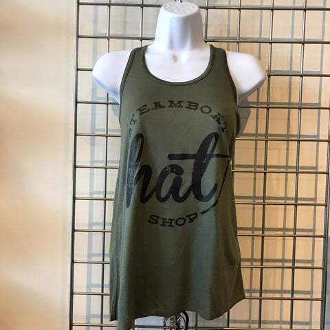 Steamboat Hat Shop Tank