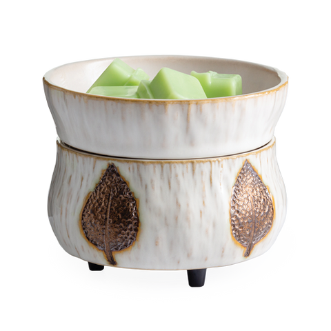 Bronze Leaf 2-in-1 Wax Warmer