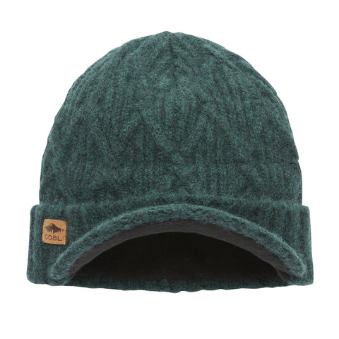 The Yukon Cable Knit Wool Brim Beanie