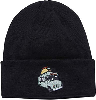 The Crave Food & Drink Patch Acrylic Cuff Beanie