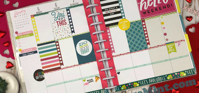 Beginner to decorating Planner Pages