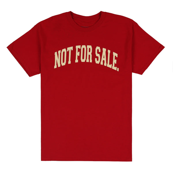 Not For Sale Tee (Wine)