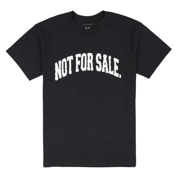 Not For Sale Scribble Tee (Black)