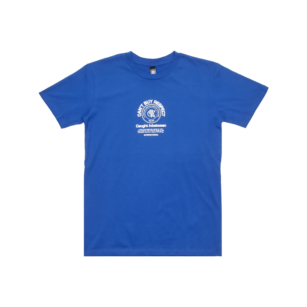 Thin Line Tee (Blue/White)