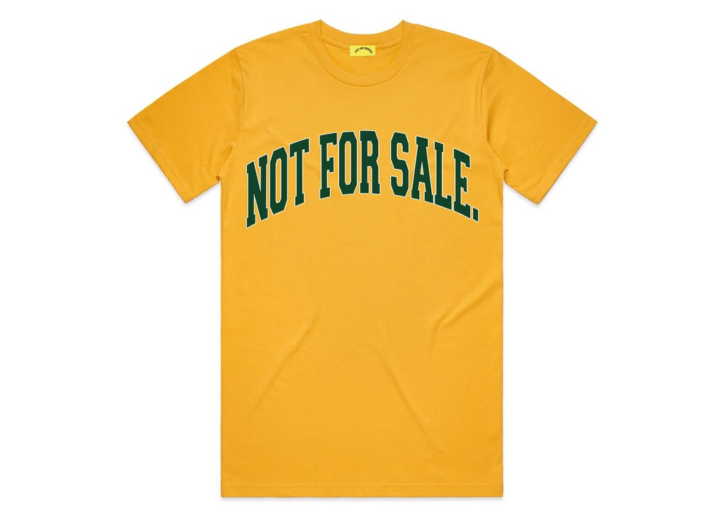 Not For Sale Tee (Yellow/Green)