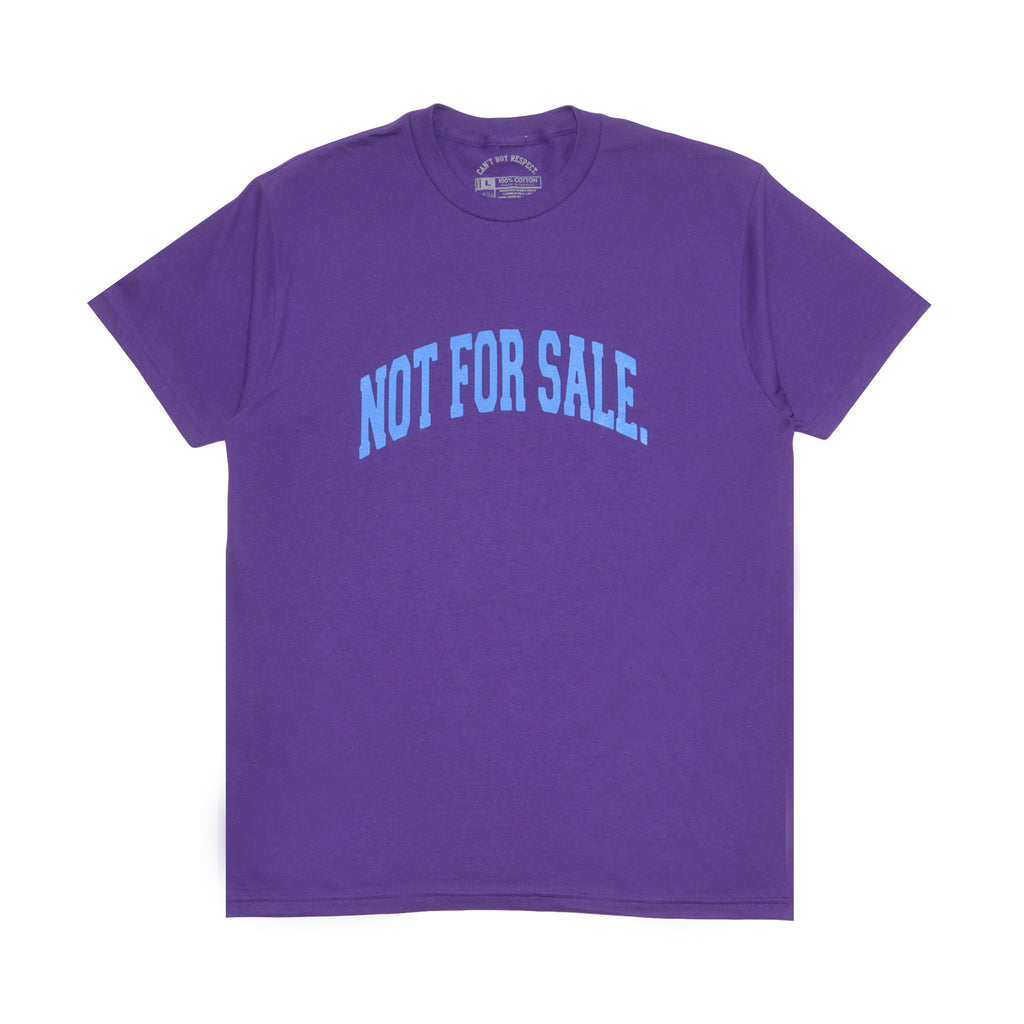 Not For Sale Tee (Purple)