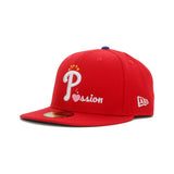 Passion NEW ERA 59/50 Fitted Cap (Red)