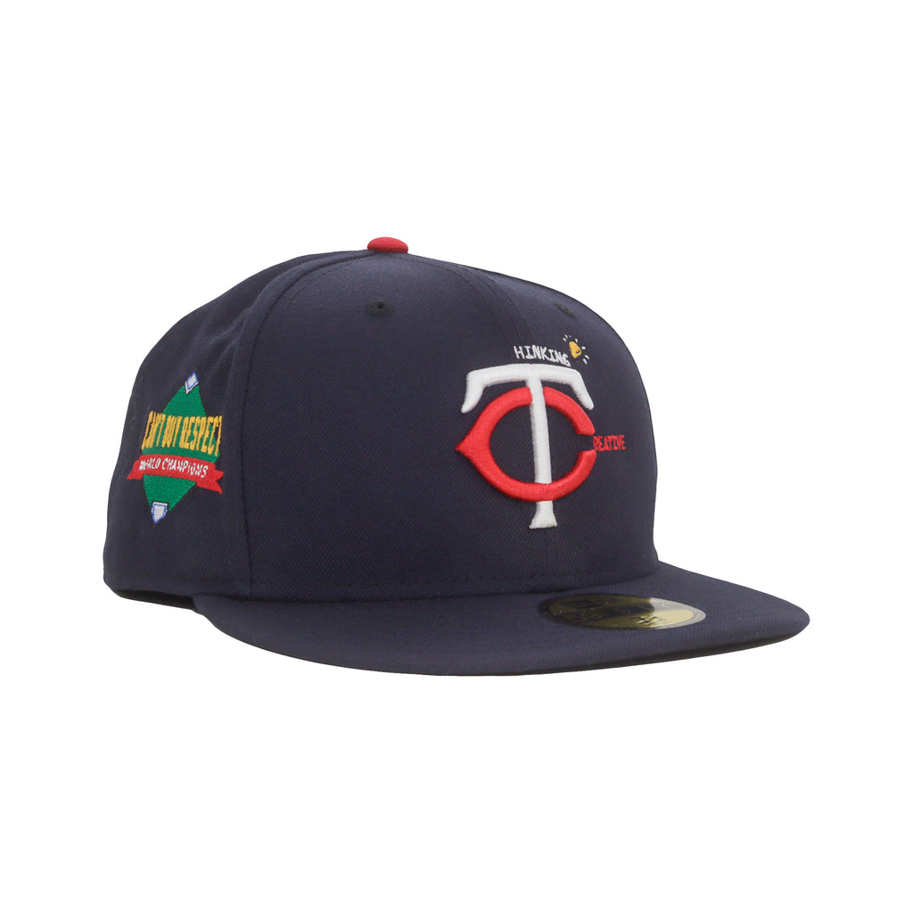 Thinking Creative NEW ERA 59/50 Fitted Cap (Navy)