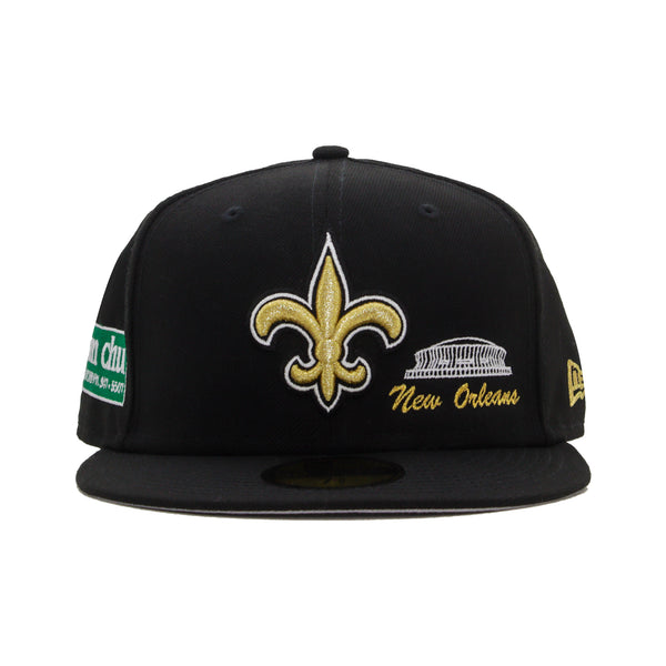 N.O. Landmarks NEW ERA 59/50 Fitted Cap (Black)