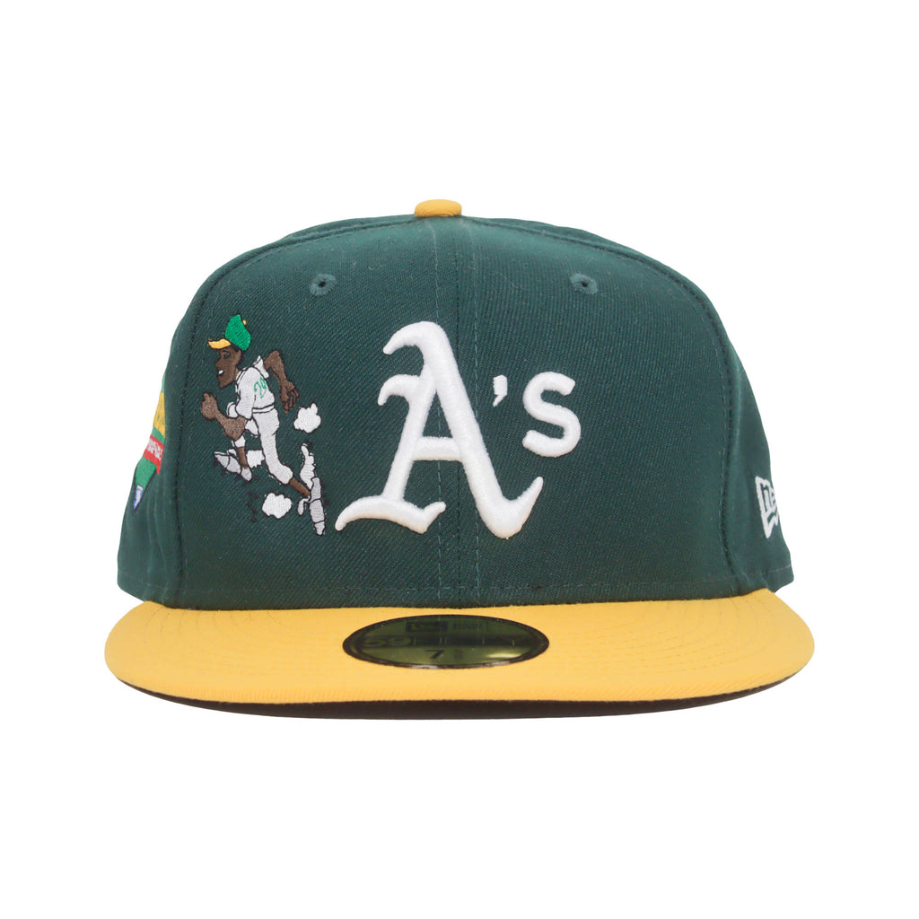 Athletics NEW ERA 59/50 Fitted Cap (Green)