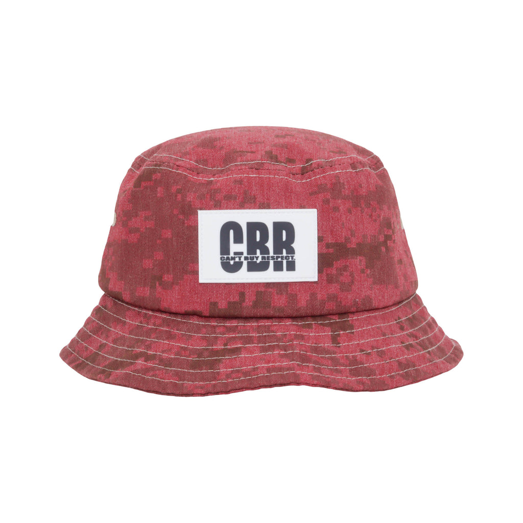DigiCamo Bucket Hat (Punch Red)