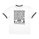 Use Your Time Wisely Tee (White/Black)