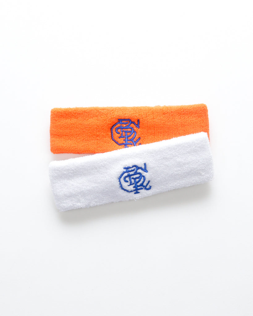 CBR Headband (White/Blue)