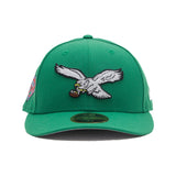 Eagles NEW ERA 59/50 Fitted Cap (Green)