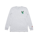 Eagles Long Sleeve Tee (Grey/Green)